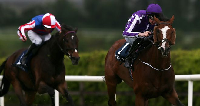 Leading Light led home Royal Diamond again to score at the Curragh.