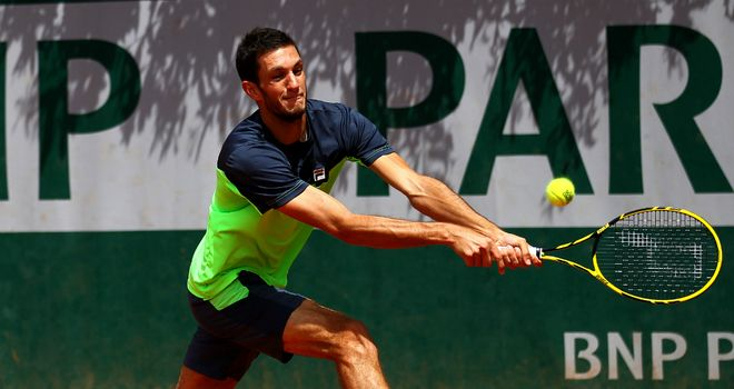 James Ward: Ended Britain's 41-year wait for a male qualifier at the French Open