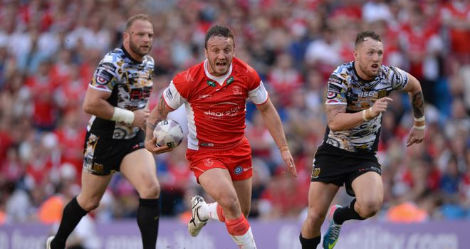 Josh Hodgson: Scored Hull KR's final try in their derby win over Hull FC on Saturday