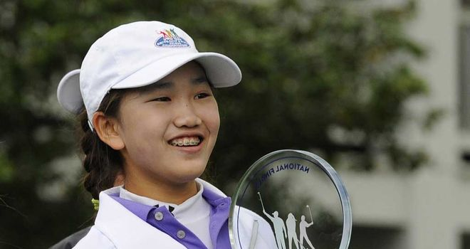 Lucy Li: 11-year-old prodigy is heading for Pinehurst