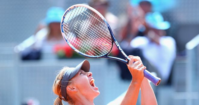 Maria Sharapova: Hoping her early exit in Rome will help her in Paris