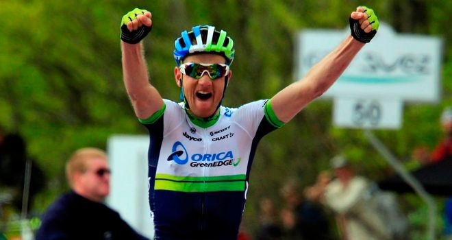 Peter Weening claimed the second Giro stage win of his career