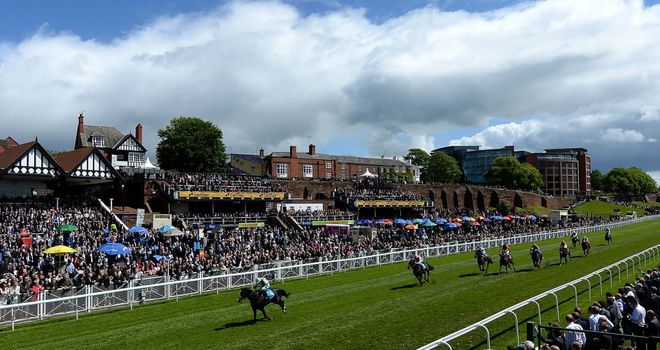 Here Comes When: An impressive winner at Chester earlier in the year
