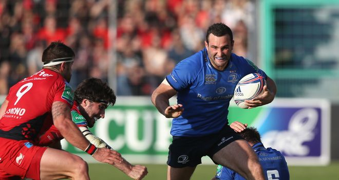 Dave Kearney: Leinster wing scored second-half try