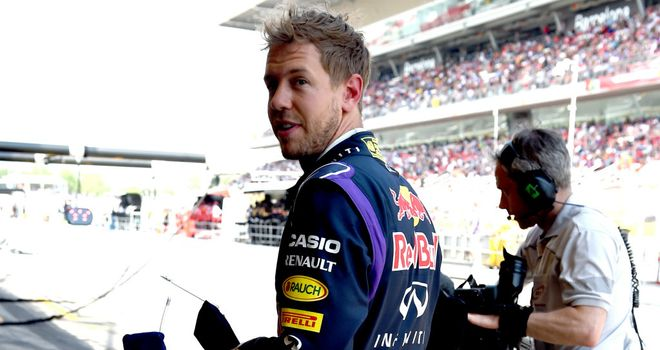 Sebastian Vettel: Having little luck so far in 2014