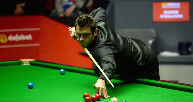 Ronnie O'Sullivan: Saturday off for defending world champion