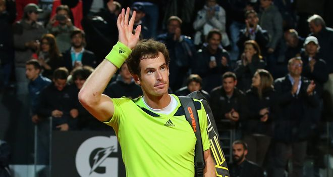 Andy Murray: Forced Rafael Nadal rally in Rome