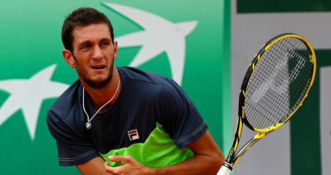 James Ward: Came through two tie-breaks to defeat Ryan Harrison