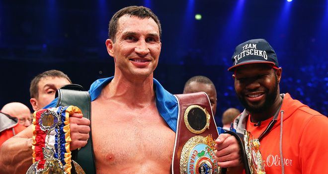 Wladimir Klitschko: Successfully defended his titles last month