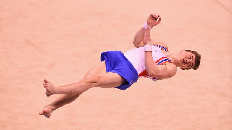 Sam Oldham of Great Britain