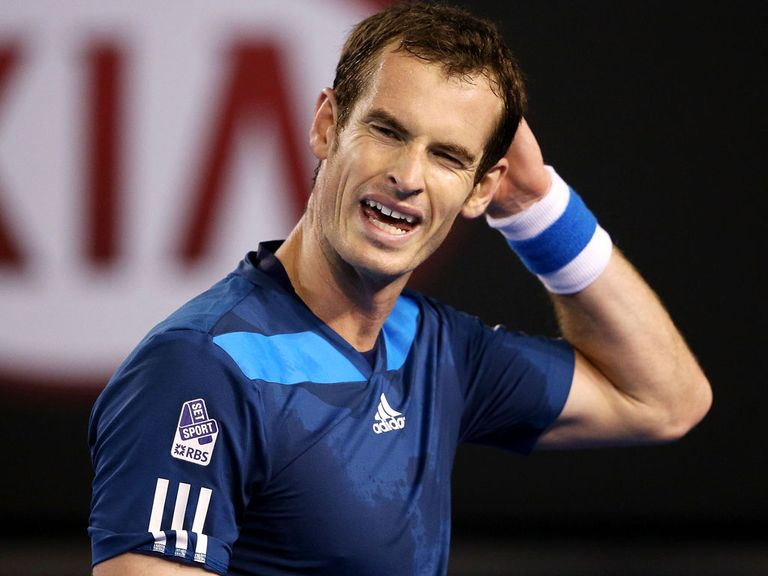 Andy Murray: Has dropped down to world No 8