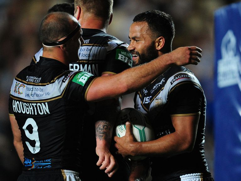Aaron Heremaia: Popular signing for Widnes