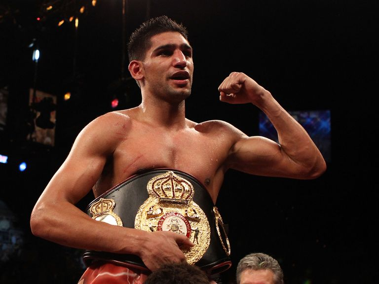Amir Khan: Questioned over an assault but the allegations have been dropped