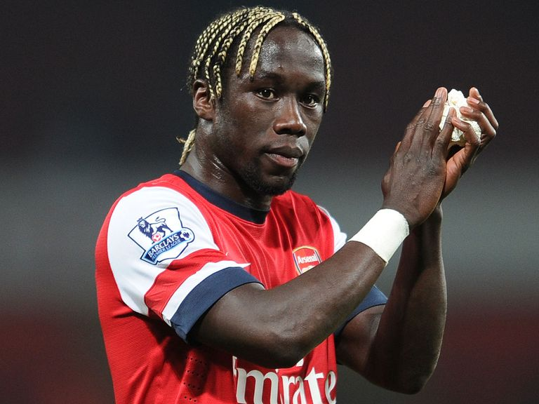 Bacary Sagna: Approaching the end of his contract at Arsenal