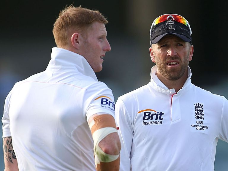 Stokes (l) and Prior: ALmost ready to return to action