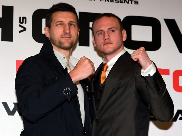 Carl Froch: Ready to go toe-to-toe with arch rival Groves