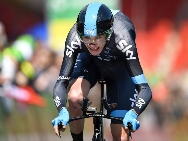 Chris Froome: Successfully defended his title