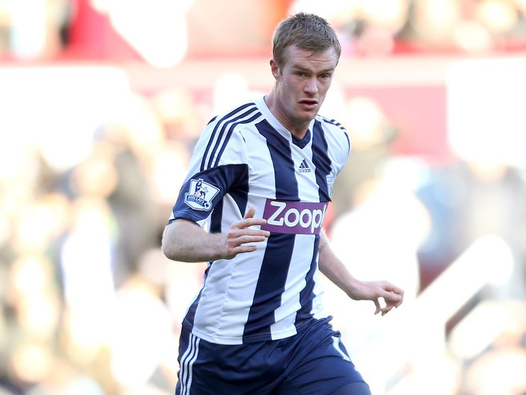 Chris Brunt: Signed a new deal at West Brom