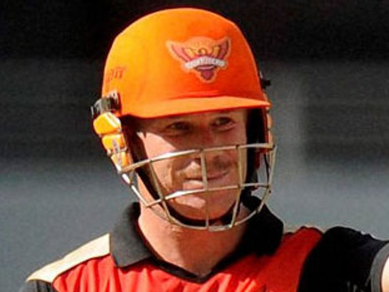 David Warner: Top-scored with 59 for Sunrisers Hyderabad