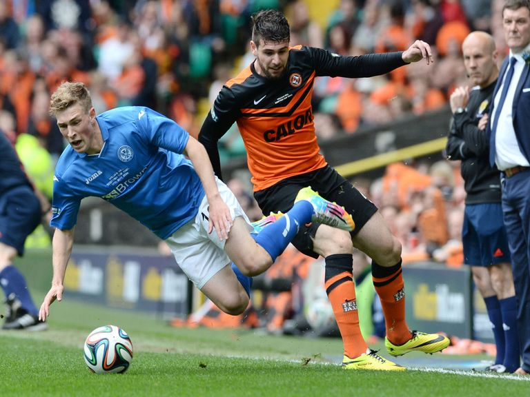 Nadir Ciftci in action in Saturday's cup final