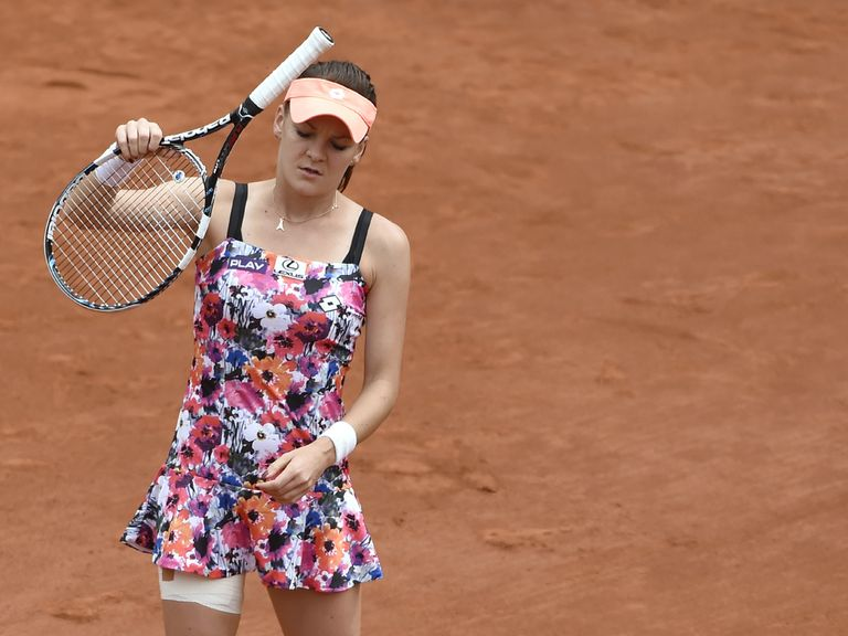 Agnieszka Radwanska: Knocked out in the third round
