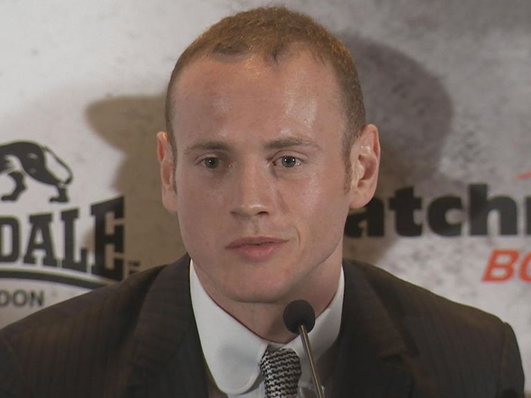 George Groves: Aiming to finish Froch with a left hook