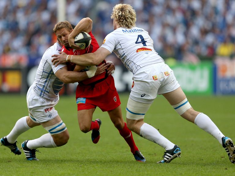 Jonny Wilkinson in action during his final match