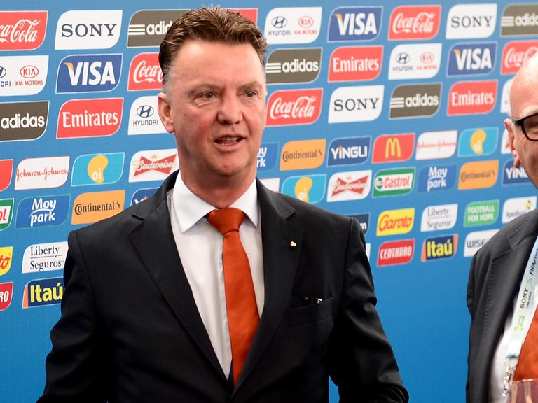 Louis Van Gaal has hinted that it is not just Manchester United who are interested in him