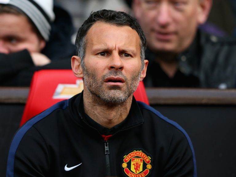 Giggs: Enjoyed his time at the helm of Man United