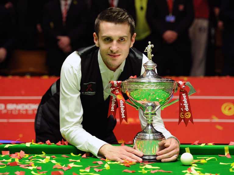 Mark Selby: World champion for the first time