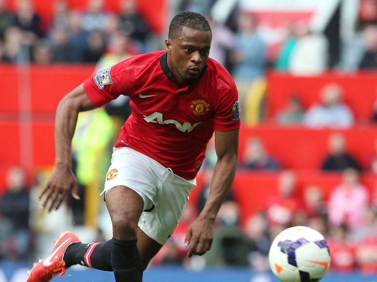 Patrice Evra: Linked with Monaco in recent months
