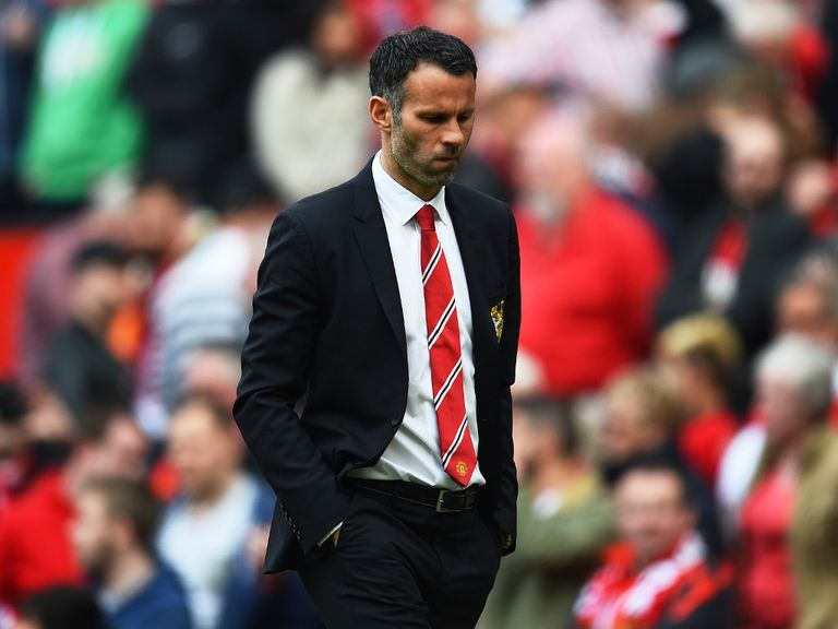 Ryan Giggs: Placed in charge of Man United on a temporary basis