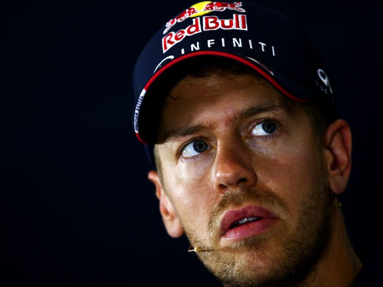 Vettel: Enduring a difficult season