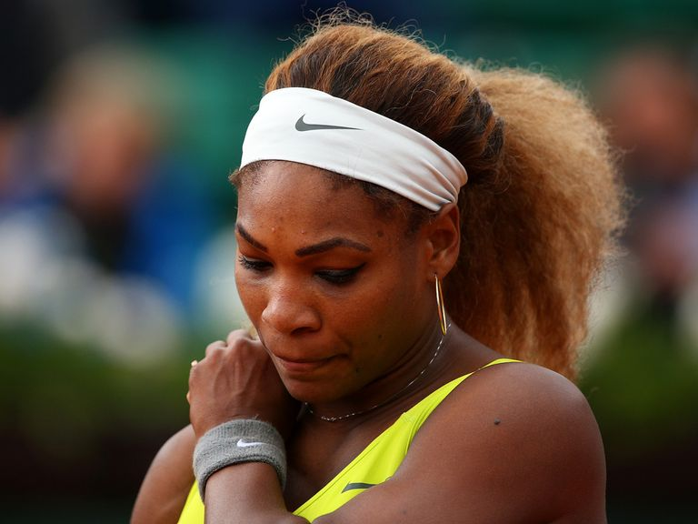 Serena Williams: Suffered a shock defeat in Paris
