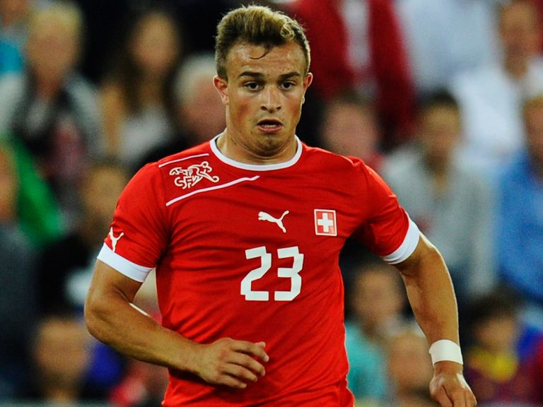 Xherdan Shaqiri: Linked with a move to Liverpool