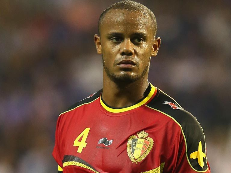 Vincent Kompany: Has picked up a calf injury
