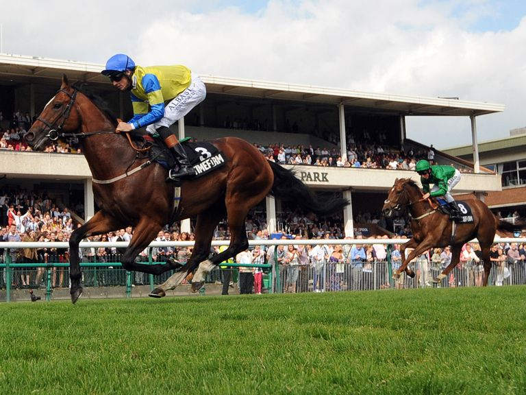 Aeolus fulfilled the promise of his reappearance when winning at Haydock