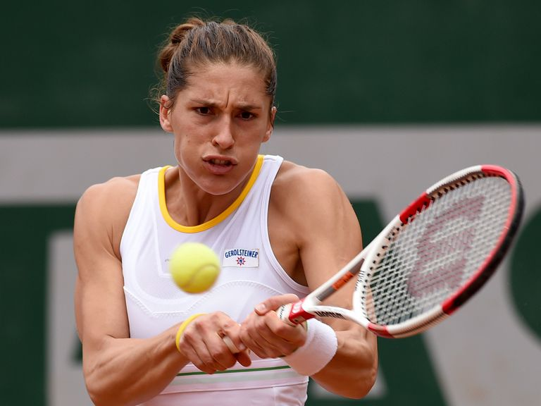 Andrea Petkovic: Through to the quarters