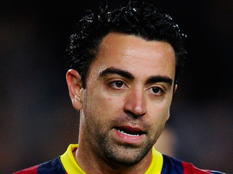 Xavi: All set up for a dramatic finale at the weekend