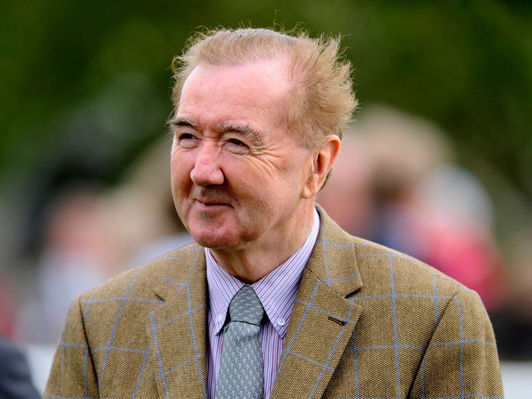 Dermot Weld saddled Antique Platinum