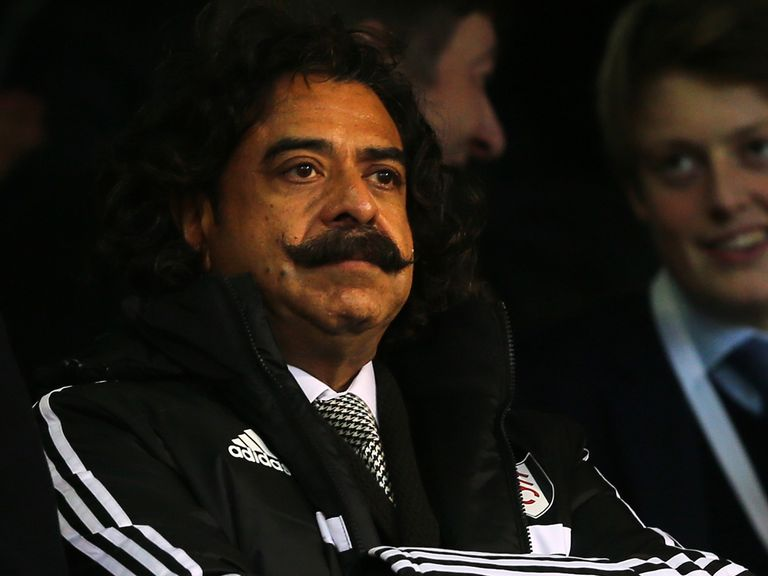 Shahid Khan is ready to invest to get Fulham back in the top flight