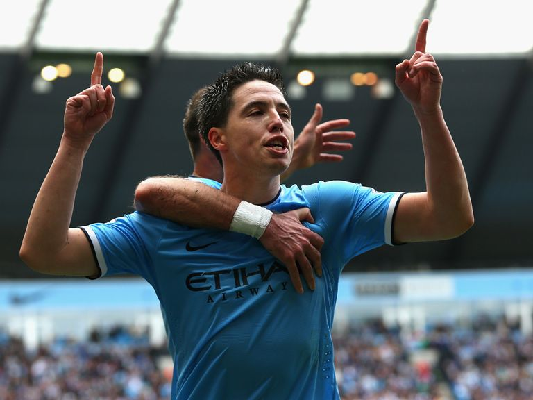 Samir Nasri: Tipped to play a starring role in the Barclays Premier League season