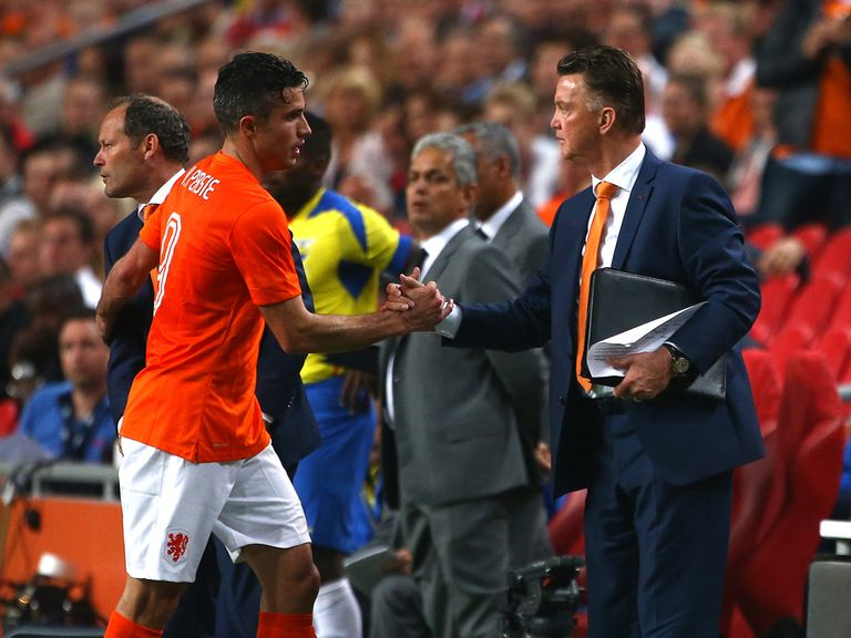 Robin van Persie: Called upon by Dutch national coach Louis van Gaal