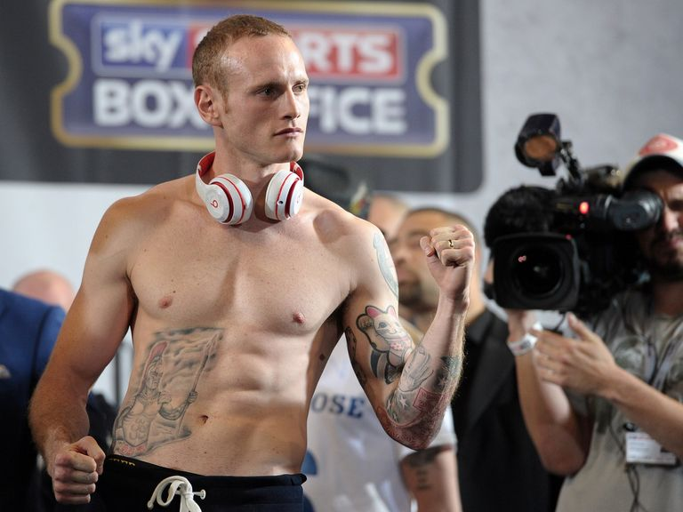 George Groves: Beaten twice by Froch but now on the comeback trail