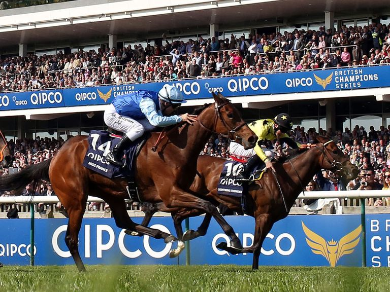 Miss France: Could run at Chantilly