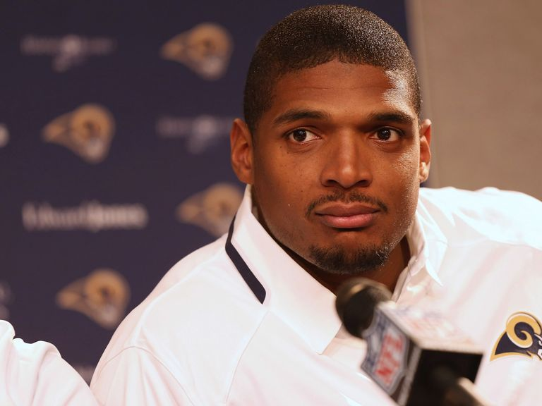 Michael Sam: Released by the St Louis Rams