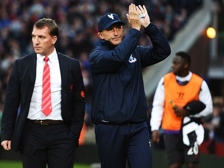 Tony Pulis: Has taken Crystal Palace to safety