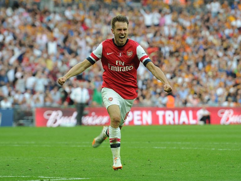 Aaron Ramsey: Scored in extra-time of the FA Cup final last season