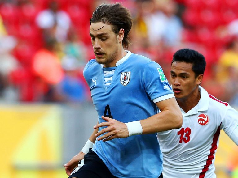 Sebastian Coates: Part of the Uruguay squad for the World Cup in Brazil