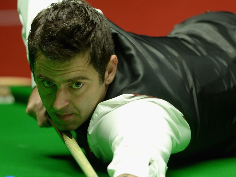 Ronnie O'Sullivan has the lead in Sheffield heading into the final day